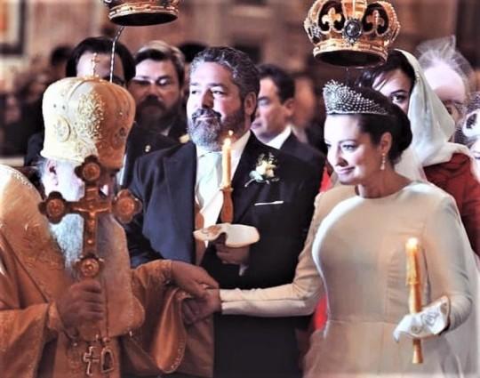 """Первая после революции """"царская свадьба"""" в России"""
