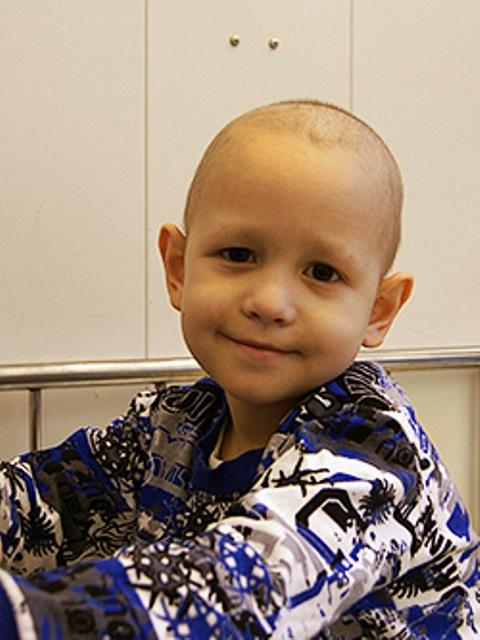 У маленького Егорки острый лимфобластный лейкоз