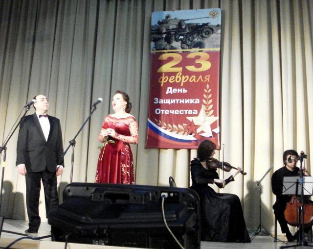 В Подольске поздравили ветеранов войны и труда с Днем Защитника Отечества.
