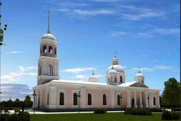 Освящение самого большого Храма в Ленинградской области