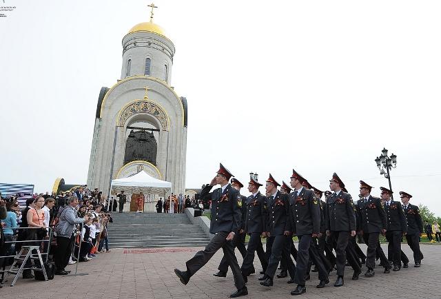 Георгиевский парад на Поклонной