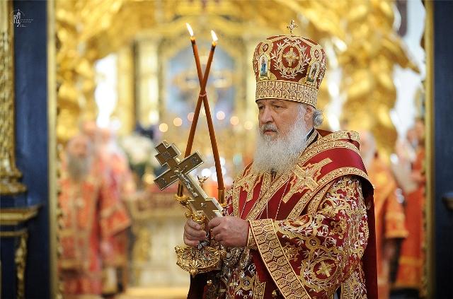Патриарх Кирилл прибыл в Крымск