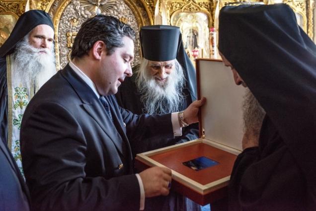 Паломничество Цесаревича Георгия Михайловича на Святую Гору Афон