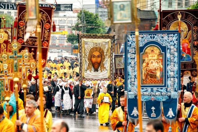 Первый крестный ход в новом году пройдет в центре Москвы