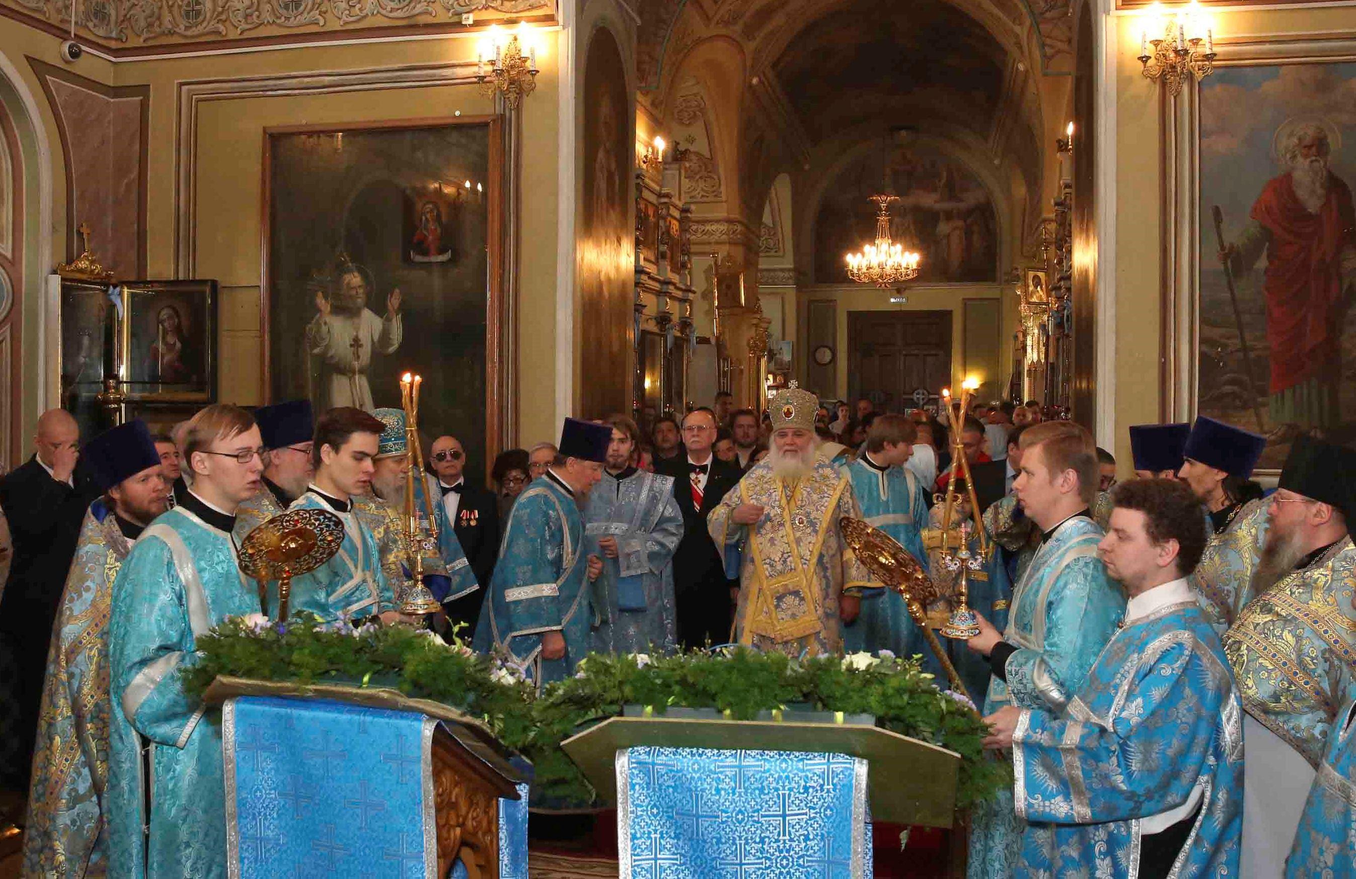 В Ильинском храме отметили День кавалеров Императорского Ордена
