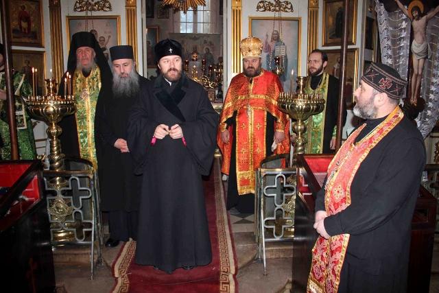 Председатель Отдела внешних церковных связей Московского Патриархата посетил русский храм в Тбилиси и монастыри Грузинской Церкви