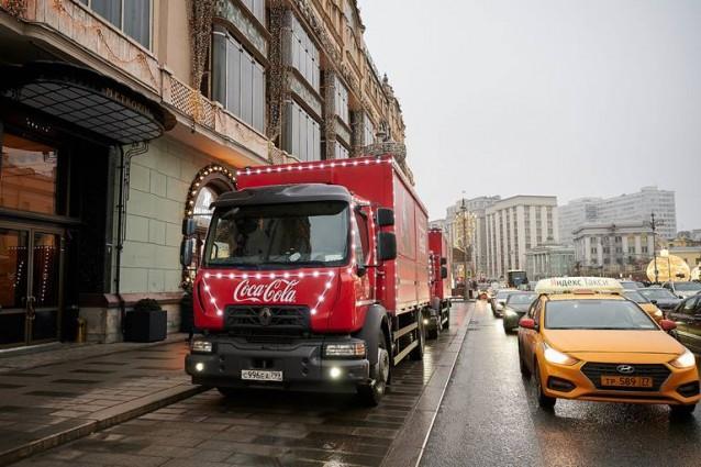 Coca-Cola и его социальный проект «Рождественский караван