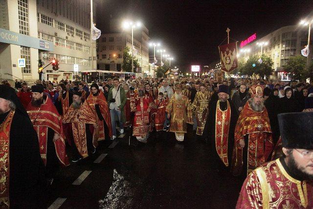 В Екатеринбурге почтили память святых Царственных страстотерпцев