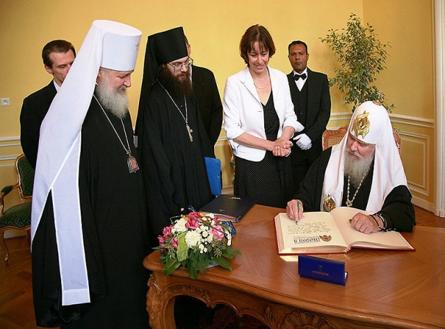 Начал работу сайт строительства Православного храма Всех святых в Страсбурге