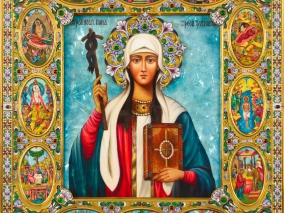 Сегодня день памяти святой равноапостольной Нины